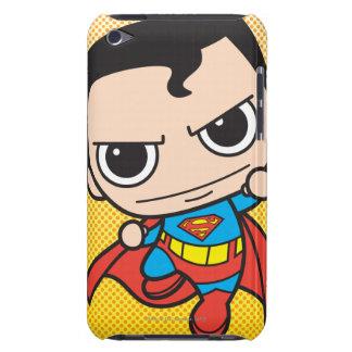 Vuelo del superhombre de Chibi iPod Case-Mate Cárcasas