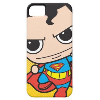 Vuelo del superhombre de Chibi iPhone 5 Funda