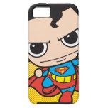 Vuelo del superhombre de Chibi iPhone 5 Cárcasas