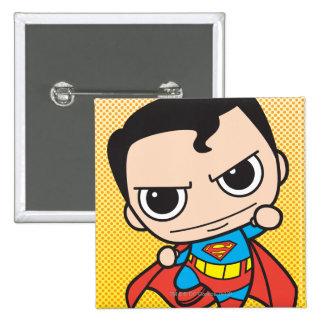 Vuelo del superhombre de Chibi Pin Cuadrada 5 Cm