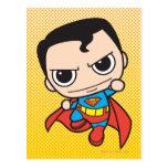 Vuelo del superhombre de Chibi Postal