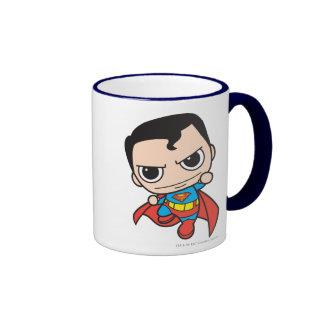 Vuelo del superhombre de Chibi Tazas De Café
