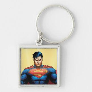 Vuelo del superhombre llavero personalizado