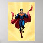 Vuelo del superhombre póster