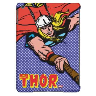 Vuelo del Thor con Mjolnir Funda iPad Air