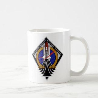 Vuelo del último del STS 135 de la Atlántida Taza De Café
