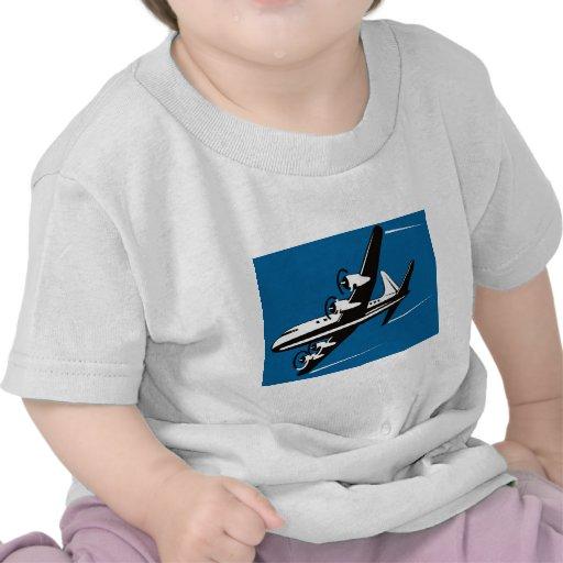 vuelo del vuelo de los aviones del aeroplano del camisetas