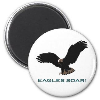 Vuelo Eagle Imán Redondo 5 Cm