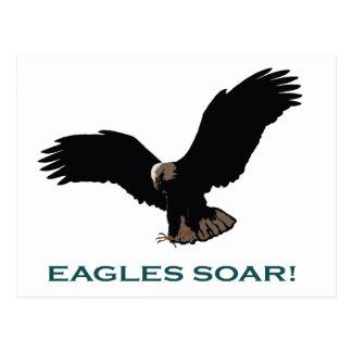 Vuelo Eagle Tarjetas Postales