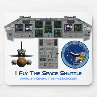 Vuelo el transbordador espacial carlinga Mousepa Tapetes De Raton