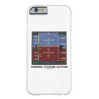 Vuelo electrónico EFIS de la altitud de la actitud Funda De iPhone 6 Barely There