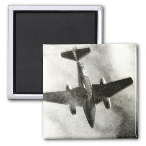 Vuelo final 1945 de ME-262 Imanes Para Frigoríficos