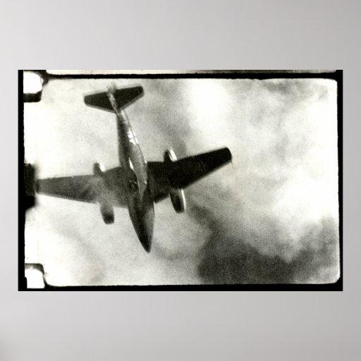 Vuelo final 1945 de ME-262 Posters