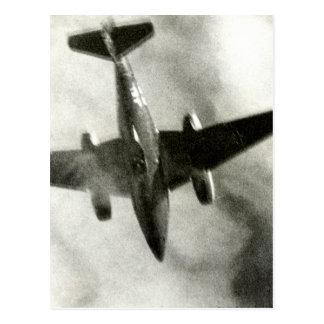 Vuelo final 1945 de ME-262 Postales