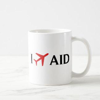 Vuelo la AYUDA - aeropuerto municipal de Anderson, Tazas