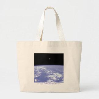 Vuelo libre de McCandless del astronauta con Bolsa Tela Grande