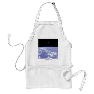 Vuelo libre de McCandless del astronauta con Delantales