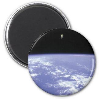 Vuelo libre de McCandless del astronauta con Imán Para Frigorifico