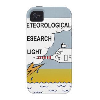 Vuelo meteorológico MRF Hercu de la investigación iPhone 4 Fundas