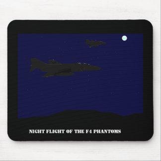 Vuelo nocturno de los fantasmas F4 Tapete De Ratones