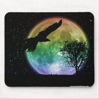 Vuelo nocturno mouse pads
