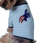 Vuelo Obama Camisa De Mascota