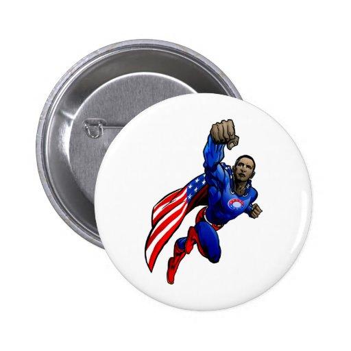 Vuelo Obama Pin