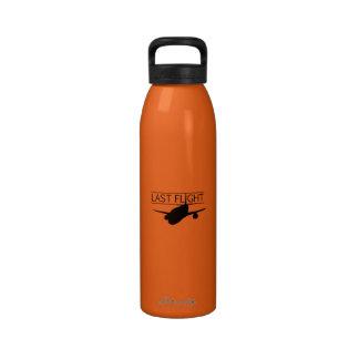 Vuelo pasado Botl Botella De Agua Reutilizable