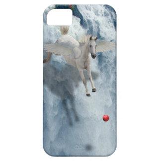 Vuelo Pegaso y caja del teléfono del arte de la iPhone 5 Carcasa