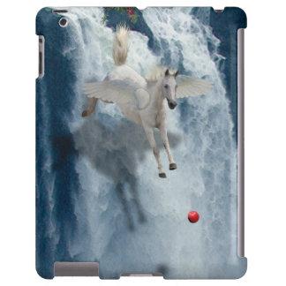 Vuelo Pegaso y caso del dispositivo del arte de la Funda Para iPad