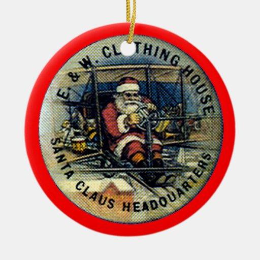 Vuelo Santa - ornamento Ornato