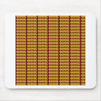 Vuelta colorida del sorteo del modelo mouse pads