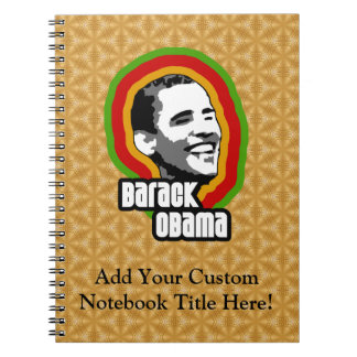 Vuelta de Barack Obama Cuaderno