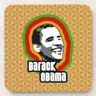 Vuelta de Barack Obama Posavasos De Bebida