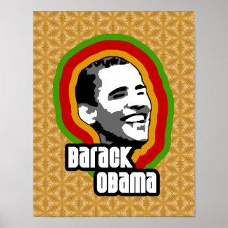Vuelta de Barack Obama Póster