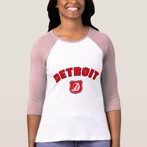 Vuelta de Detroit Camisetas