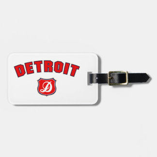 Vuelta de Detroit Etiquetas Bolsa