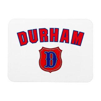 Vuelta de Durham Imán Rectangular