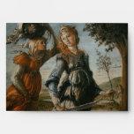Vuelta de Judith a Bethulia por Botticelli