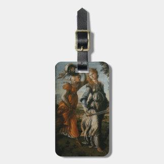Vuelta de Judith a Bethulia por Botticelli Etiquetas Maletas