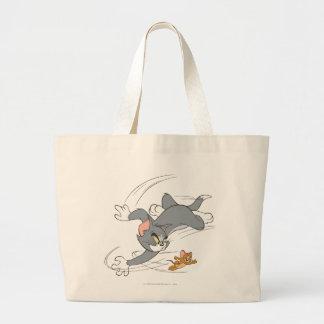 Vuelta de la caza de Tom y Jerry Bolsa Tela Grande