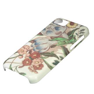 Vuelta de la célula del modelo del azafrán del carcasa para iPhone 5C