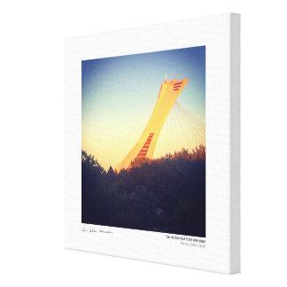 Vuelta de la fase olímpica de Montreal Impresión En Lienzo