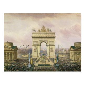 Vuelta de las cenizas del emperador a París Tarjetas Postales