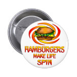 Vuelta de las hamburguesas pin