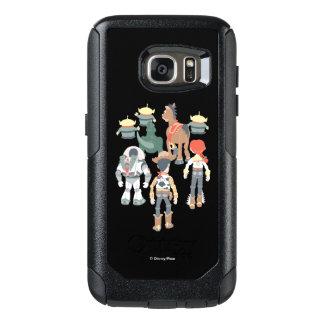 Vuelta de los amigos de Toy Story el | Toy Story Funda Otterbox Para Samsung Galaxy S7