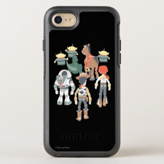 Vuelta de los amigos de Toy Story el   Toy Story Funda OtterBox Symmetry Para iPhone 7