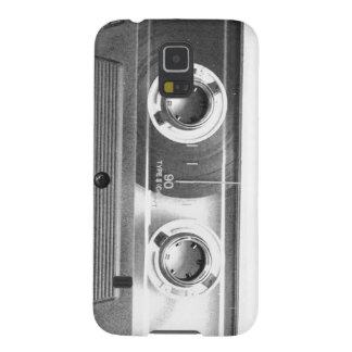 Vuelta de los años ochenta, cinta de casete Art. Carcasa Galaxy S5