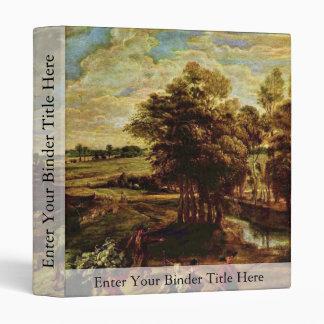 Vuelta de los campesinos de The Field de Rubens