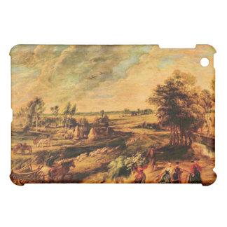 Vuelta de los granjeros del campo de Rubens